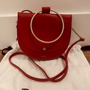 Theory Whitney Bag Red